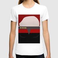 arsenal T-shirts featuring Captian Katherine Janeway - Minimalist Star Trek: Voyager VOY - trektangle - startrek trektangles by Trektangles