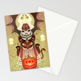 Trick-or-Treat Totem Stationery Cards
