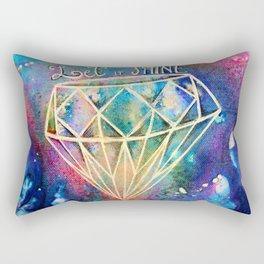 Let it Shine Rectangular Pillow