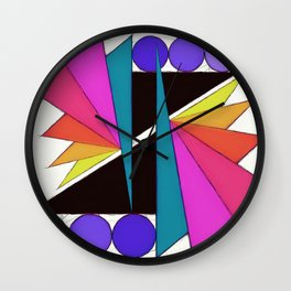 Simple cuts Wall Clock