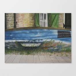 whitstable oyster co. Canvas Print