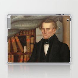 Vermont Lawyer Oil Painting by Horace Bundy Laptop & iPad Skin