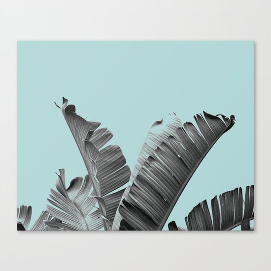 Cool palm spring break Canvas Print
