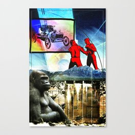 Two for Flinching Canvas Print