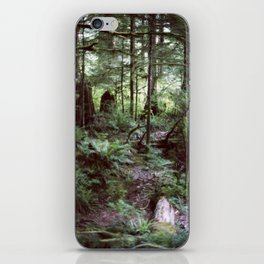 Vancouver Island Rainforest iPhone Skin