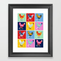 Which came first? Framed Art Print
