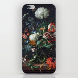 Botanical still life iPhone Skin