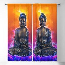 Buddha Art Blackout Curtain