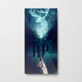 harry expecto patronum Metal Print