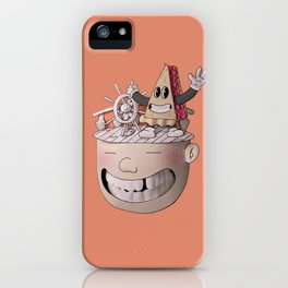 Pie Brains iPhone Case