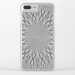 Centric Migraine Clear iPhone Case
