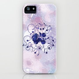 Berry symphony iPhone Case