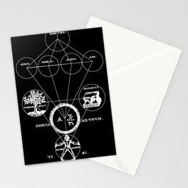 The Origins of Alchemy (white) Stationery Cards