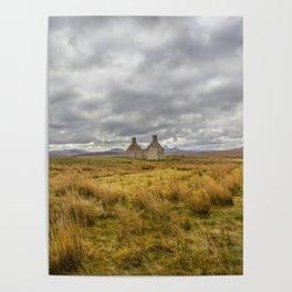 Derelict Cottage Poster