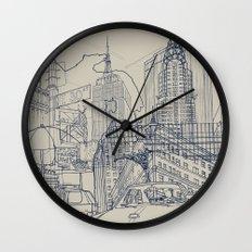 New York! Wall Clock