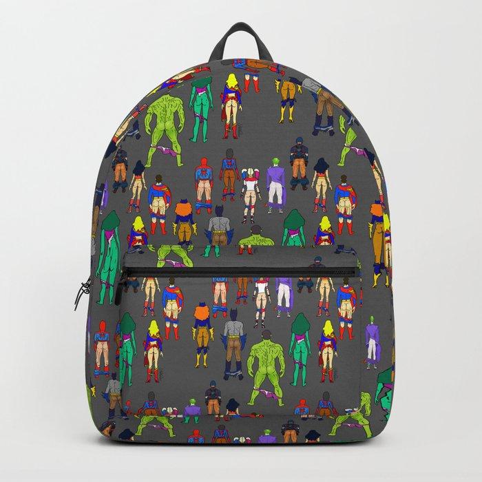 Superhero Butts - Power Couple Backpack