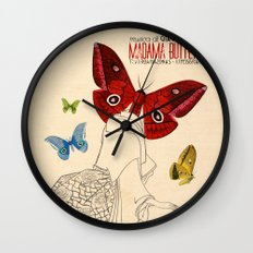 Madama Butterfly Wall Clock