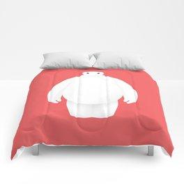 Big Hero 6 - minimal poster Comforters