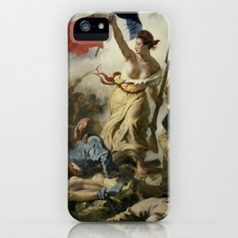 Liberty Leading the People (High Resolution) iPhone Case