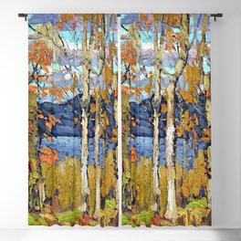 12,000pixel-500dpi - Tom Thomson - Algonquin, October - Digital Remastered Edition Blackout Curtain