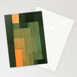 """Paul Klee """"Tower in Orange and Green 1922"""" Stationery Cards"""