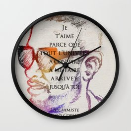 For Jou Wall Clock
