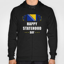 Bosnia And Herzegovina Statehood Day Hoody