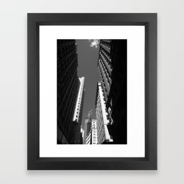 New York City Downtown 2013 Framed Art Print
