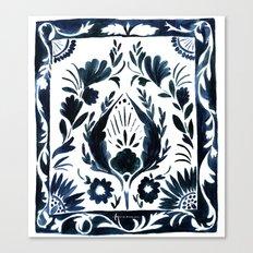 Nadia Flower Canvas Print