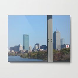 Charles River Campus Metal Print