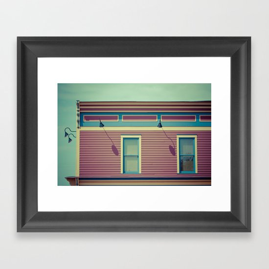 Another  shop on AB Avenue Framed Art Print