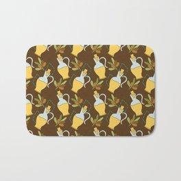 Oil olive Bath Mat