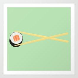 The Perfect Sushi I Art Print