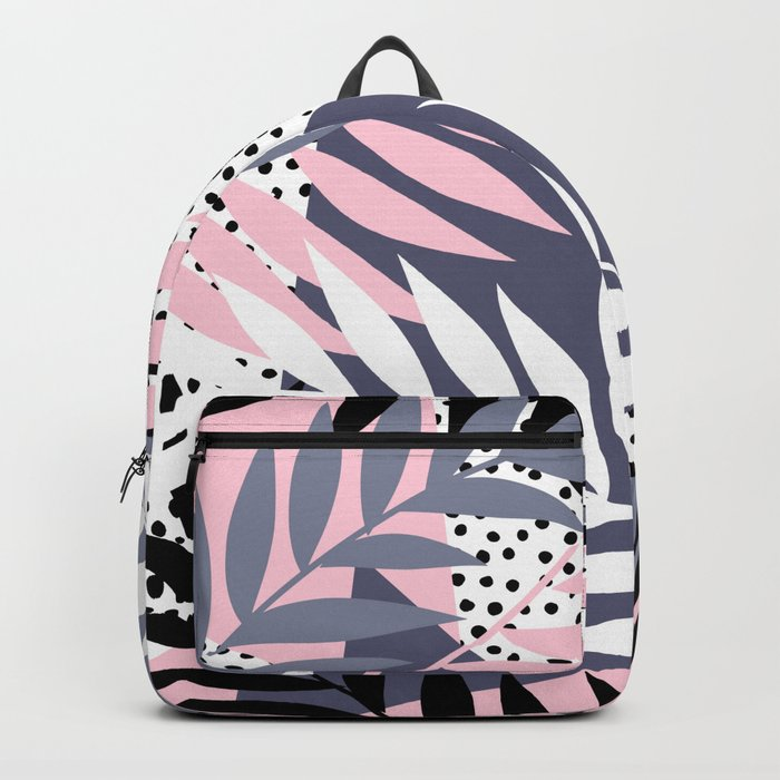Palms on Polka Dots Backpack