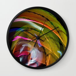 Experiments in Light Abstraction 3 Wall Clock