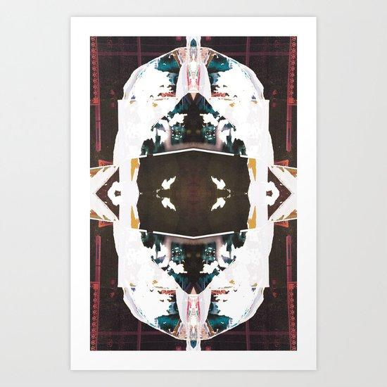 Metria 1 (Symmetria) Art Print