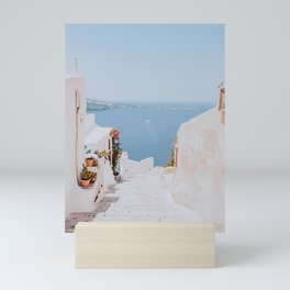 santorini ii / greece Mini Art Print