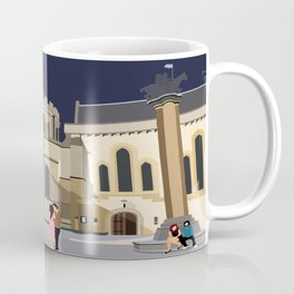 Lovers at Temple Church Coffee Mug