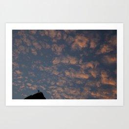 Caminho de Nuvens - Corcovado Series (Outros postais)  Art Print