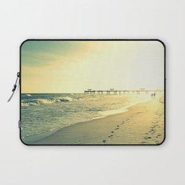 Couple on the Beach Laptop Sleeve