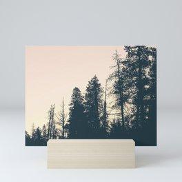 Orange Sherbert Skies | Mountainside Morning Mini Art Print