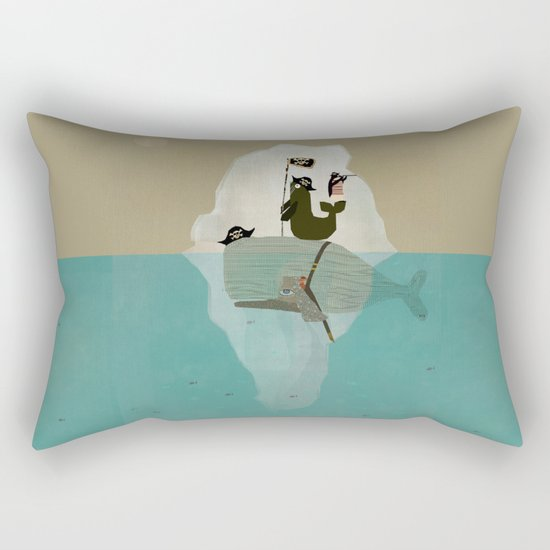 we are pirates too Rectangular Pillow