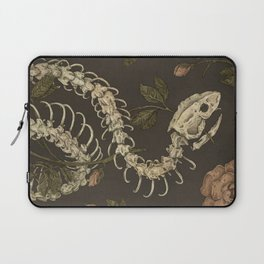 Snake Skeleton Laptop Sleeve