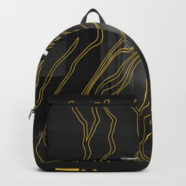 Yellow City 03 Backpack