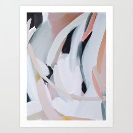 Abstract Brush Strokes, I Art Print