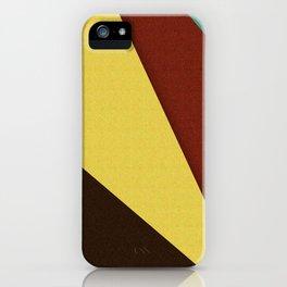 Retro Earth Tones iPhone Case