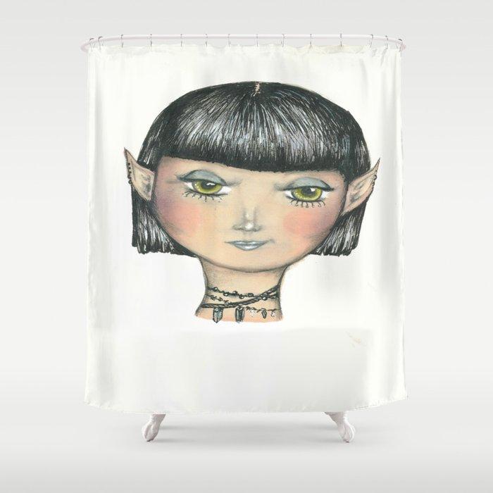 Faerie Misfit Shower Curtain