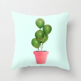 CACTUS BALLOON Throw Pillow