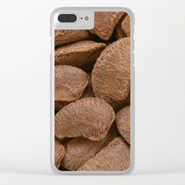 Brazil nuts Clear iPhone Case