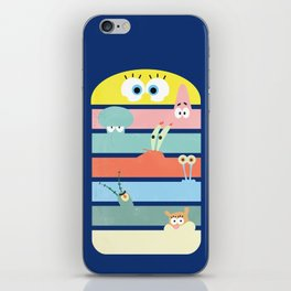 Krabby Party iPhone Skin